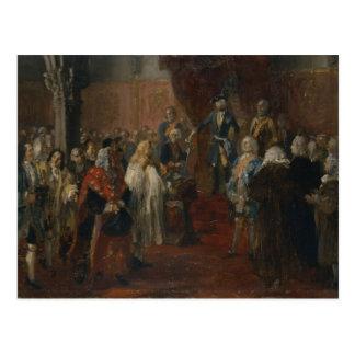 Cena Silesian da homenagem, 1855 Cartão Postal