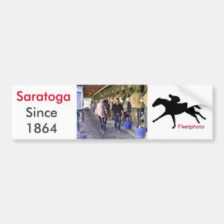 Cenas de Saratoga Adesivo Para Carro