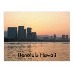 Cenas do cartão de Havaí Cartão Postal