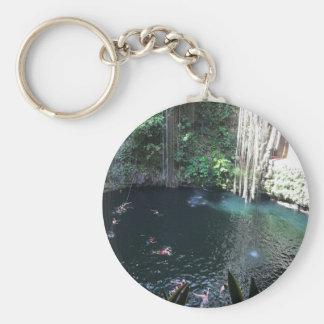 Cenote azul sagrado, Ik Kil, chaveiro de México #2