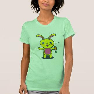 Cenoura bonito do doce do coelho de coelho camisetas