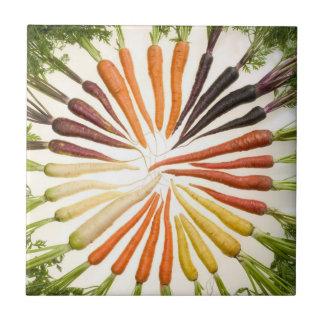 Cenouras coloridas