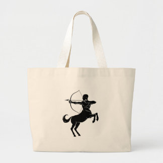 Centauro com arco e seta bolsa tote grande