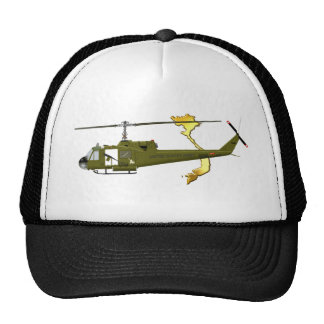 Centauro de Bell UH-1 Huey com imagem de Vietnam Boné