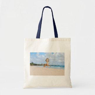 Centauro na praia bolsas