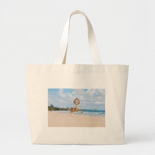Centauro na praia bolsa para compras
