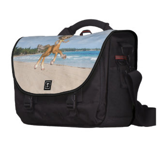 Centauro na praia maleta para notebook
