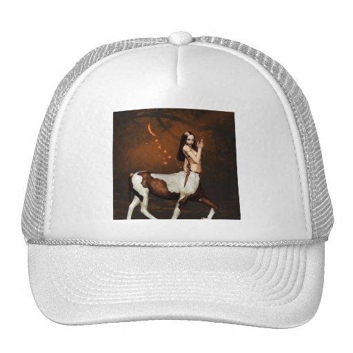 Centauro no chapéu de basebol da noite boné