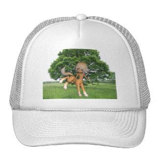 Centauro que joga o chapéu de basebol boné