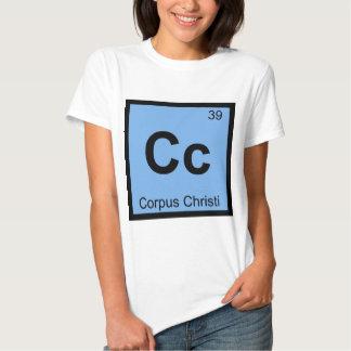 Centímetro cúbico - Símbolo da química de Corpus Camiseta