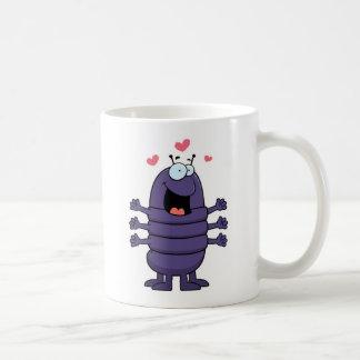 Centípede dos desenhos animados caneca de café