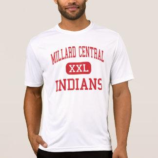 Central de Millard - indianos - meio - Omaha Camisetas