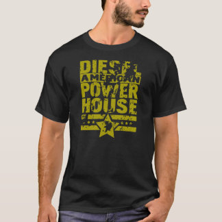 Central eléctrica diesel americana camiseta