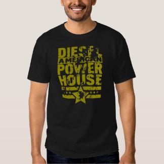 Central eléctrica diesel americana tshirts