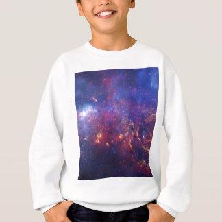 Centro da camisa de suor da galáxia da Via Láctea