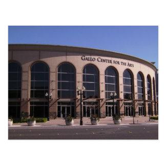Centro de Gallo para o cartão das artes