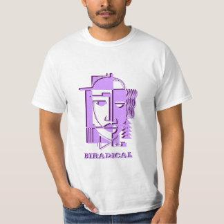 Centros radicais de conceptualização 2separate do t-shirts