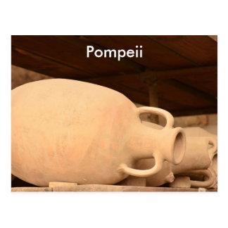 Cerâmica em Pompeii Cartão Postal
