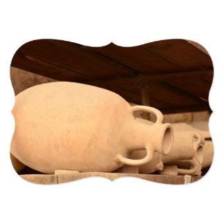 Cerâmica em Pompeii Convite 12.7 X 17.78cm