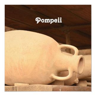 Cerâmica em Pompeii Convite Quadrado 13.35 X 13.35cm