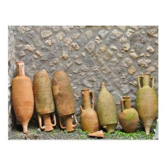 Cerâmica - Pompeia, Italia Cartão Postal
