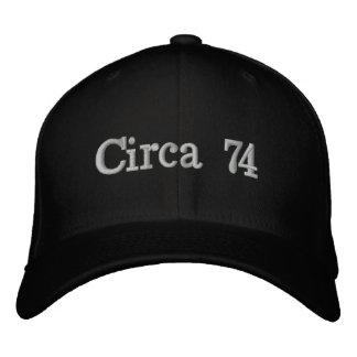 Cerca do chapéu 74 boné bordado