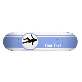 Cercando a silhueta azul skates personalizados