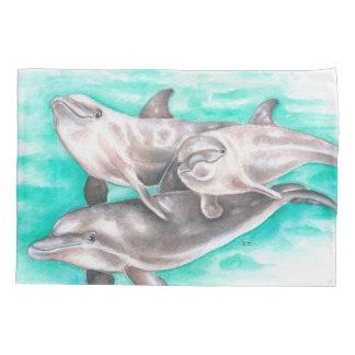 Cerceta feliz dos golfinhos