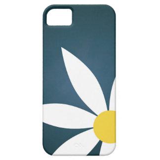 Cerceta floral simples capa de telefone ilustrada