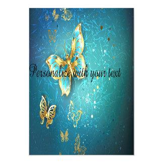 Cerceta, metálico, dourada, borboleta, chique,