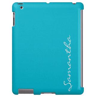 cerceta na moda chique moderna simples elegante do capa para iPad