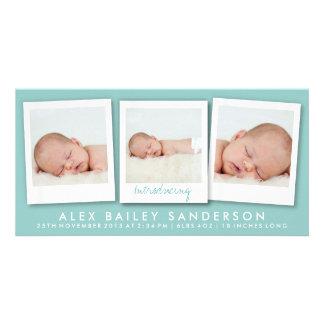 Cerceta nova das fotos | do múltiplo do cartão com cartoes com foto personalizados