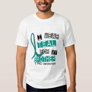 Cerceta Polycystic da doença renal PKD para o irmã T-shirts