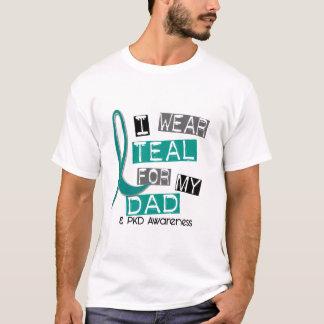 Cerceta Polycystic da doença renal PKD para o pai Camiseta