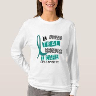Cerceta Polycystic da doença renal PKD porque eu Camiseta