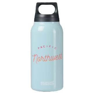 Cerceta quente & fria noroeste pacífica da garrafa