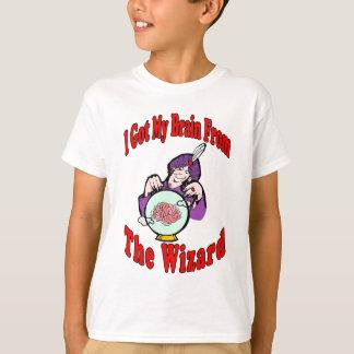Cérebro do feiticeiro camiseta