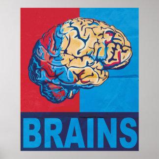 Cérebro do zombi pôster