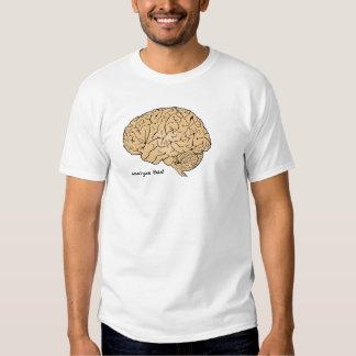 Cérebro humano: Analise isto! Camiseta