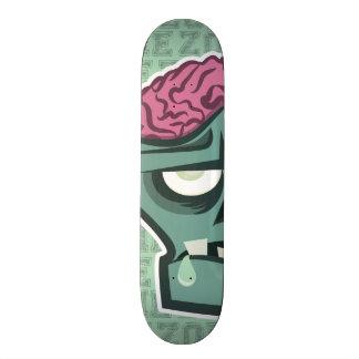 Cérebros do zombi shape de skate 20,6cm