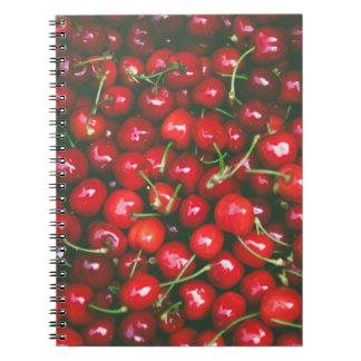Cerejas… Cadernos