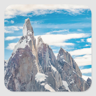 Cerro Torre - Parque Nacional Los Glaciares Adesivo Quadrado