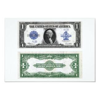 Certificado de prata 1923 de $1 cédulas convites