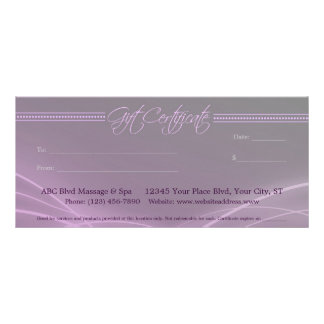 Certificado de presente elegante das luzes panfleto informativo personalizado