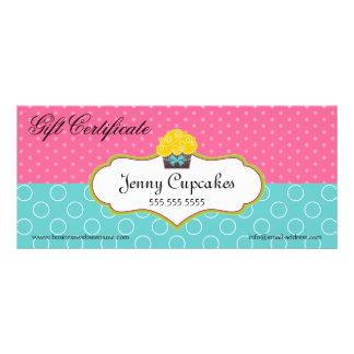 Certificado de presente lunático da padaria do cup modelo de panfleto informativo