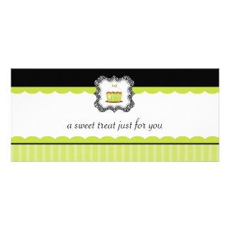 Certificados de presente do boutique da padaria 10.16 x 22.86cm panfleto