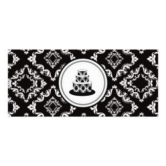 Certificados de presente do estilo do boutique da 10.16 x 22.86cm panfleto