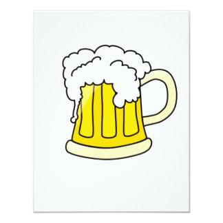 Cerveja Convite 10.79 X 13.97cm