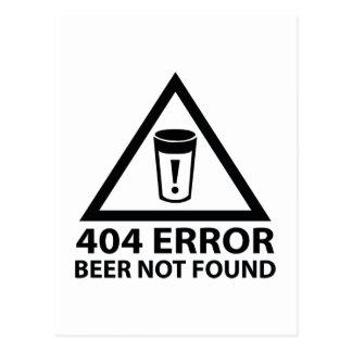 Cerveja de 404 erros não encontrada