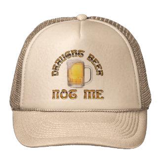 Cerveja de esboço não mim chapéu boné